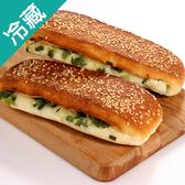 美味青蔥燒餅4個/盒【愛買冷藏】