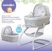 遊戲床折叠 出口外貿便攜折疊初生嬰兒搖床震動多功能寶寶床游戲床搖床兒童床 珍妮寶貝