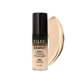 Milani Conceal + Perfect 完美零瑕二合一遮瑕粉底液 00A Porcelain 30ml