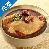 【1月22日起陸續出貨】饗城黑蒜頭燉土雞2200g+-5%/袋(年菜)【愛買冷凍】