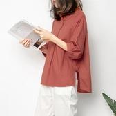 短袖襯衫 襯衫女雪紡夏短袖寬鬆顯瘦200斤韓版洋氣遮肚子上衣女裝新年禮物