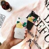 iPhone手機殼 可掛繩 韓國ins冬日熱咖啡 高透矽膠軟殼 蘋果iPhone7/iPhone6手機殼