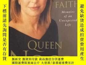 二手書博民逛書店Leap罕見of Faith by Queen NoorY753