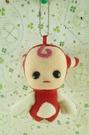 【震撼精品百貨】X1外星寶寶~絨毛鎖圈-紅