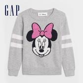 Gap女幼童 Gap x Disney 迪士尼圓領針織衫 601625-米妮圖案
