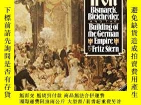 二手書博民逛書店Gold罕見And IronY256260 Fritz Stern Vintage 出版1979