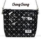 ☆小時候創意屋☆ 泰國品牌 幾何黑 chang chang 大象包 曼谷包 CC包 BKK包 側背包 斜背包 正版授權