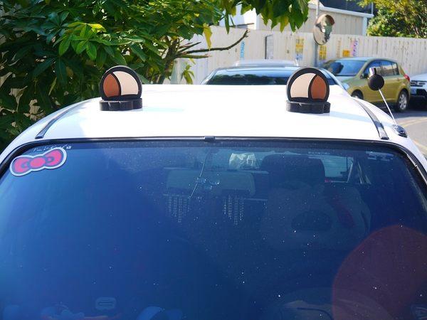高質量 汽車裝飾貼 熊耳多 超可愛破表 倒楣熊 拉拉熊 台灣黑熊 霸氣Q版登場 裝飾貼 立體耳多
