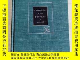 二手書博民逛書店Progress罕見and Poverty, An Inquiry into the Cause of Indus