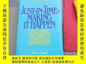 二手書博民逛書店Just-In-Time:罕見Making It HappenY