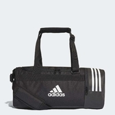 X-adidas Convertible 3 Stripes Duffel Bag Small 黑 白 水桶包 行李袋 肩背 斜背 手提皆可 CG1532