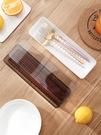 筷籠 家用帶蓋筷子盒 勺子置物架筷子筒廚房餐具收納盒防塵筷子籠brj【快速出貨八折鉅惠】
