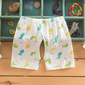 寶寶開襠短褲嬰兒褲子夏季超薄衣服吸汗叉襠