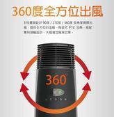 現貨30台!美國 Lasko 樂司科 黑塔之星 全方位360度渦輪循環電暖器 CT22360TW