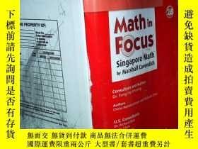 二手書博民逛書店Math罕見in Focus Singapore Math by