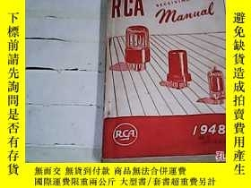 二手書博民逛書店RCA罕見RECEIVING TUBE MANUAL (RCA接