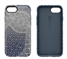 ★ APP Studio ★【Speck 】 Presidio Inked  iPhone 7 (4.7吋)纖薄防摔保護殼,靛藍色絞染圖案