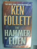 【書寶二手書T6/原文小說_NIC】The Hammer of Eden_Ken Follett