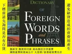 二手書博民逛書店The罕見Browser s Dictionary Of Foreign Words And PhrasesY