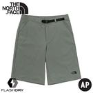 【The North Face 男 快乾健行短褲《龍舌蘭綠》】46KZ/DWR/吸濕排汗戶外徒步褲/休閒短褲