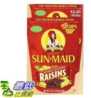 [COSCO代購] W994515 Sun Maid 加州葡萄乾 1021公克 X 2入/組 (4組)