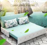可折疊沙發床兩用客廳小戶型雙人多功能簡約現代省空間三人沙發 igo【全館免運】