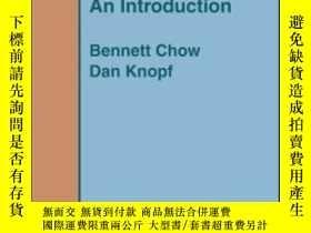 二手書博民逛書店The罕見Ricci Flow-利瑪竇流Y436638 Bennett Chow; Dan... Americ
