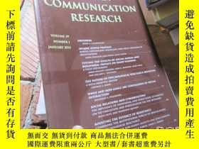 二手書博民逛書店human罕見communication research vo