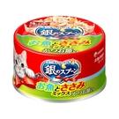 銀湯匙  貓罐頭  雞肉+柴魚片口味