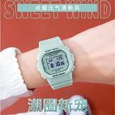 手錶女ins風中學生男女式電子錶少女簡約氣質防水夜光運動獨角獸 傑克型男館