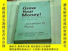二手書博民逛書店Grow罕見Your Money!--101 Easy Tips