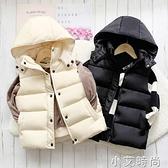 秋冬兒童羽絲棉馬甲男童女童冬季新款加厚保暖背心外穿中大童坎肩 小艾新品