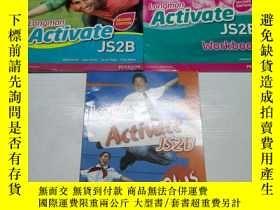 二手書博民逛書店Longman罕見Activate JS2B second edition 一套3冊Y284058 John