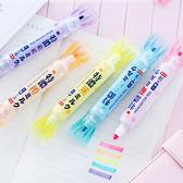 【BlueCat】仿真特濃牛奶糖果雙頭螢光筆
