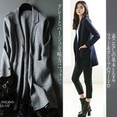 長版針織外套-羊毛長袖寬鬆純色中長款女毛衣外套4色72ak19【巴黎精品】