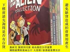 二手書博民逛書店The罕見My Teacher Is an Alien Collection My Teache [08--12歲
