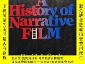 二手書博民逛書店A罕見History of Narrative Film(有畫線
