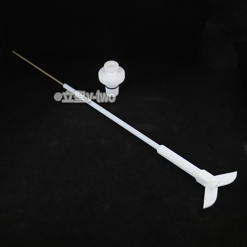 軸封TF攪拌棒 24/40 450mm 一般用
