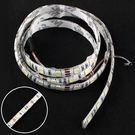 LED 燈條 軟燈條 採5050晶片白光 3M 背膠 DC 12V 100cm 軟條 1米 防潑水(17-1272)