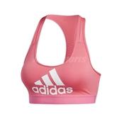 adidas 運動內衣 DTR BOS NOV Bra 粉紅 白 女款 基本款 【PUMP306】 EI5428