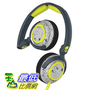 [104美國直購] Skullcandy Lowrider Dark Gray/Light Gray On Ear Headphones SCS5LWGY-386