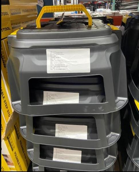 [COSCO代購] C129348 STRATA 多功能工作椅內附工具盒