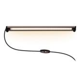 Esense 磁吸式USB LED燈-長(棕)