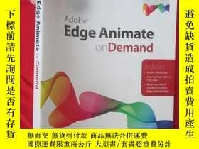 二手書博民逛書店Adobe罕見Edge Animate on Demand (