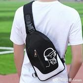 新款胸包男士單肩包斜背包腰包休閒包運動男包小背包胸前包潮