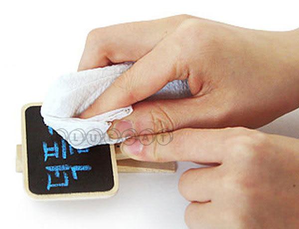 【BlueCat】鄉村風 迷你小黑板桌上型便利夾 MENO夾 名片夾 黑板夾子