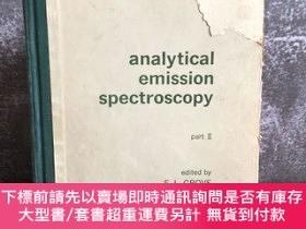 二手書博民逛書店Analytical罕見Emission spectroscopyY439422 E.L.Grove 出版