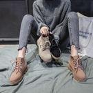 馬丁靴女英倫風學生百搭短靴切爾西靴 糖果時尚