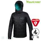 山林MOUNTNEER 男款PRIMALOFT保暖外套 32J01 黑色 防風 防潑水 防寒 類羽絨 OUTDOOR NICE