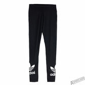 adidas 女 TRF LEGGINGS 愛迪達 緊身長褲 黑 - AJ8153